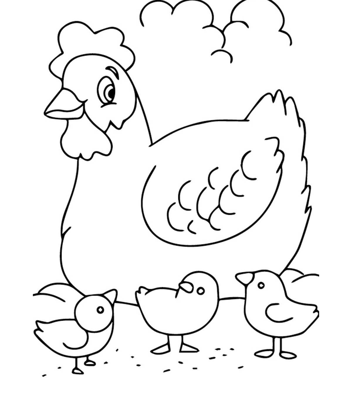 - Top 10 Free Printable Farm Animals Coloring Pages Online