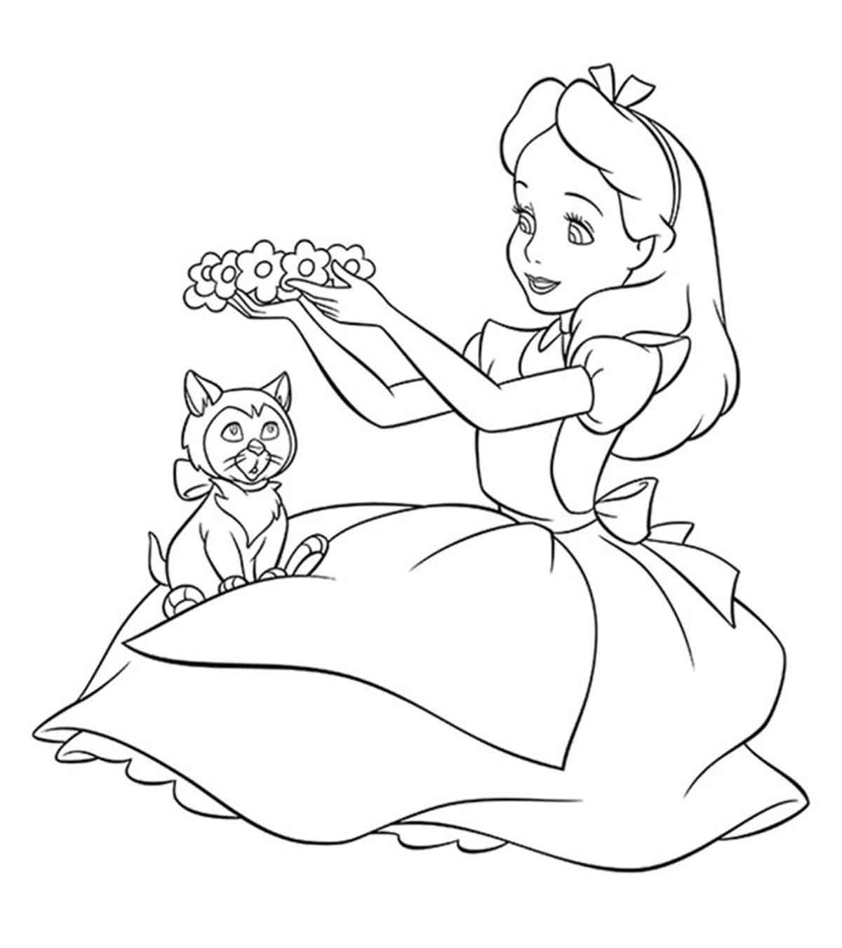Disney Coloring Pages For Your Little Ones