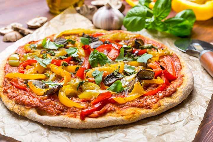 Easy-peasy pizza crust