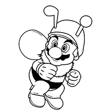 Mario-Dressed-As-Honey-Bee-16