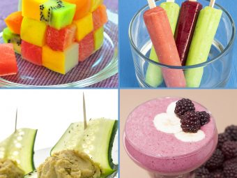6 Simple Summer Recipes For Kids And 10 Healthy Food Options