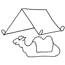 The-Camel-And-Tent