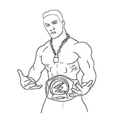 The John Cena With Championship Belt