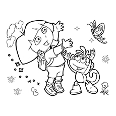 The-dora-and-boots-the-monkey