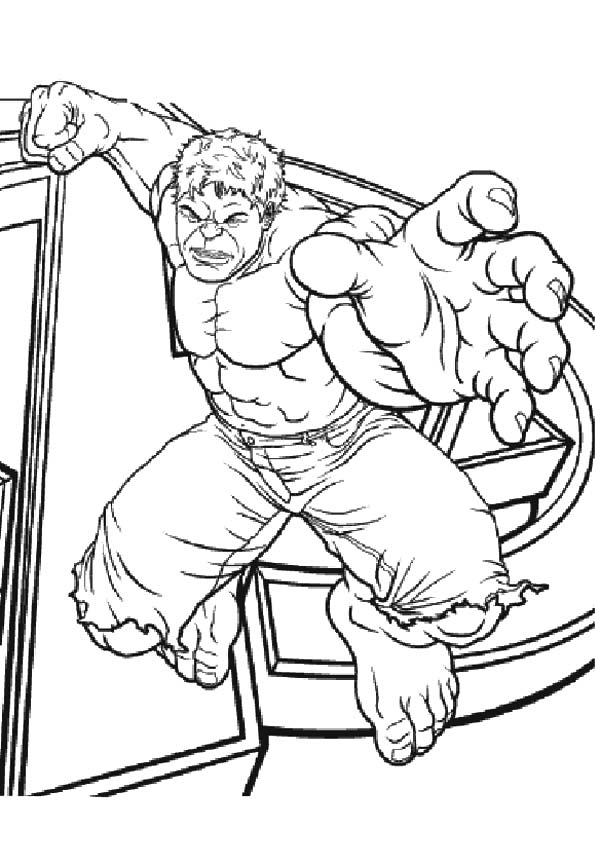 The-hulk-in-catching-a-position-coloring-page