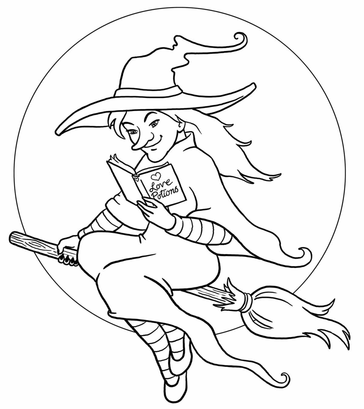 Wizard Wonders 1 Coloring Page