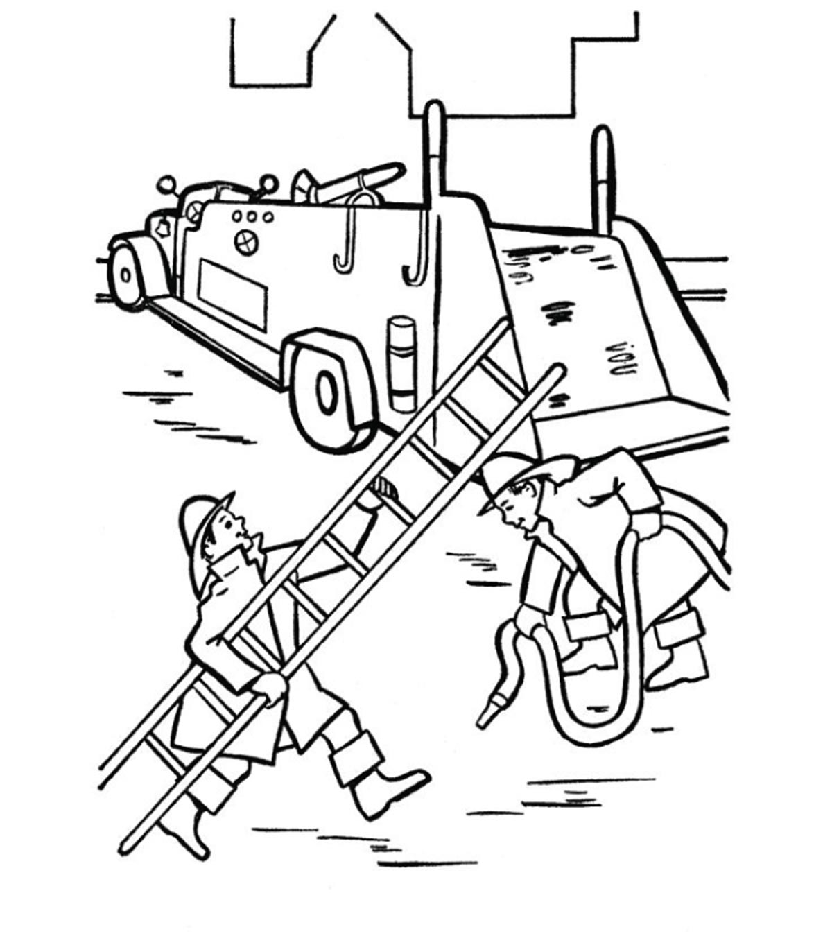 - Firefighter Coloring Pages - Free Printables - MomJunction
