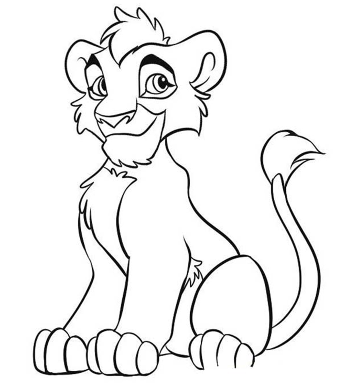 Free Timon And Pumbaa Coloring Pages, Download Free Clip Art, Free ... | 1350x1200
