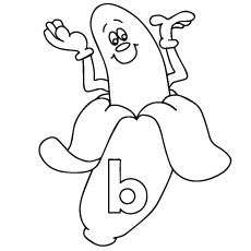 b-for-banana