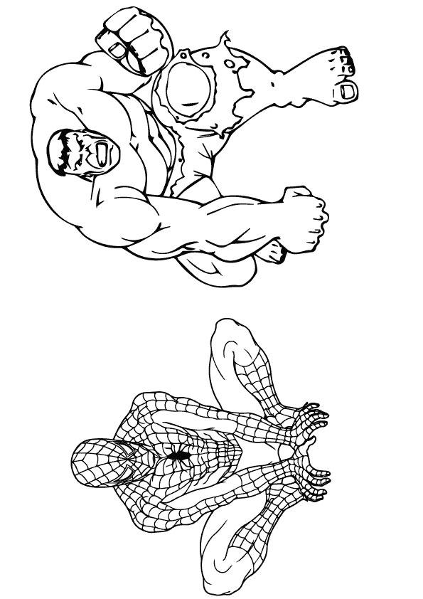 hulk-spiderman-coloring