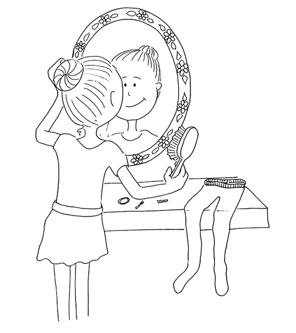 Bratz pom pom girls coloring pages - Hellokids.com | 1350x1200