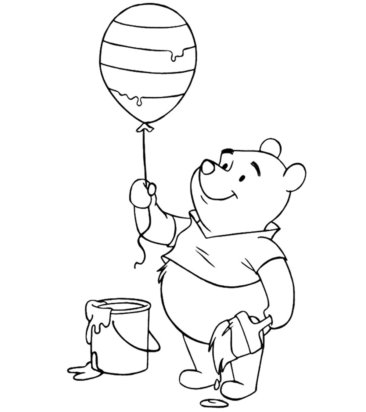 Printable Hot Air Balloon Coloring Pages For Kids Kids adult | 1350x1200