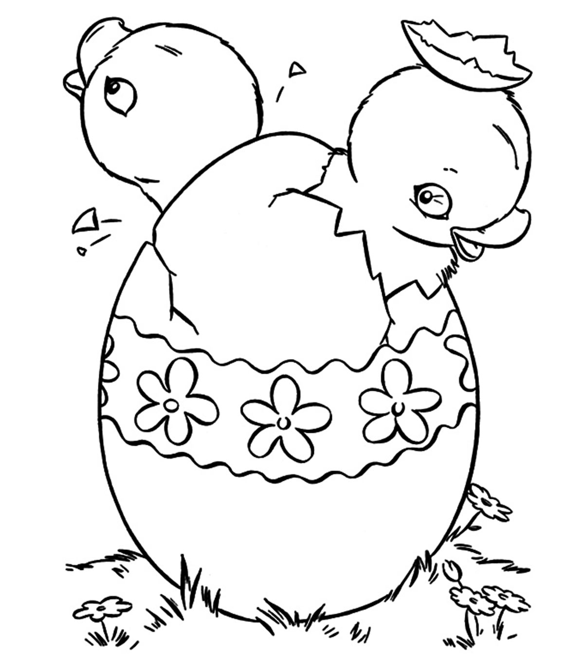 Printable Easter Coloring Pages Easter Eggs Coloring Pages To ... | 1350x1200