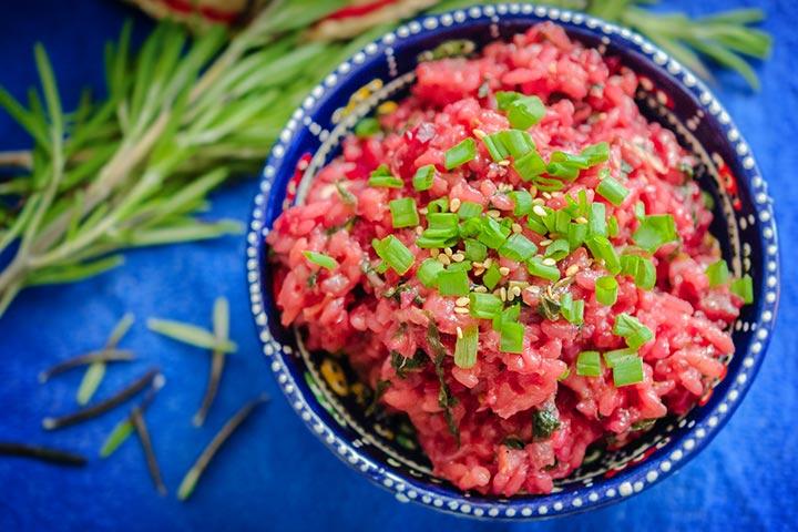Beetroot Rice Casserole