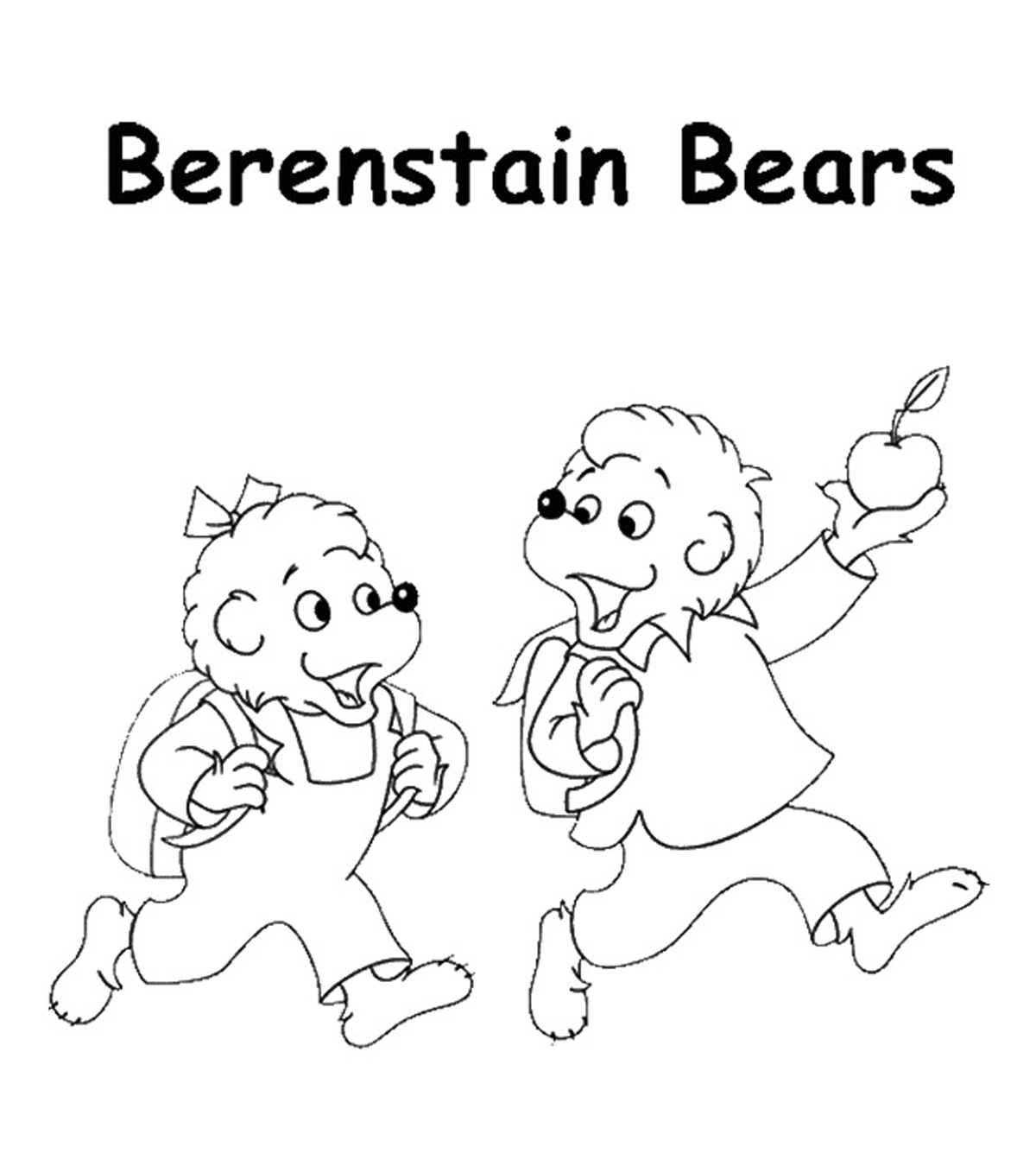 - Top 25 Free Printable Berenstain Bears Coloring Pages Online