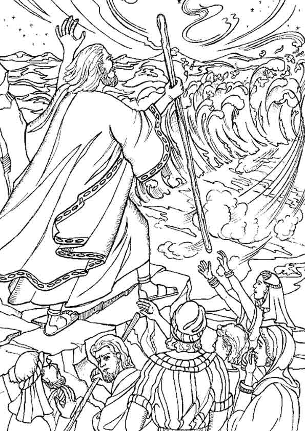 Coloring-pages-red-sea-moses