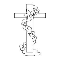 Cross WIth Flowers 17