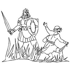 David-and-Goliath-fighting-Story