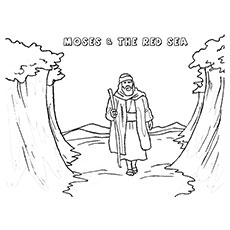 Moses-The-red-sea
