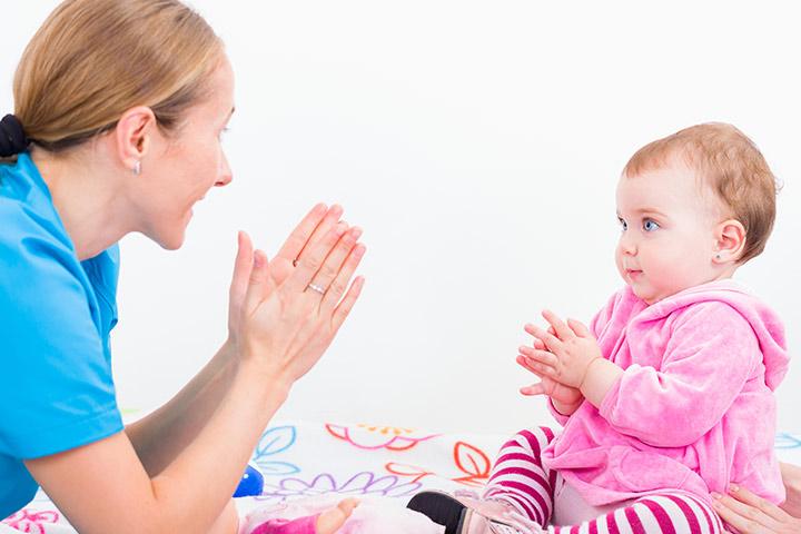Nursery rhyme with dance