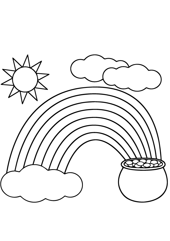 St-patricks-Coloring-sheets-6-rainbow