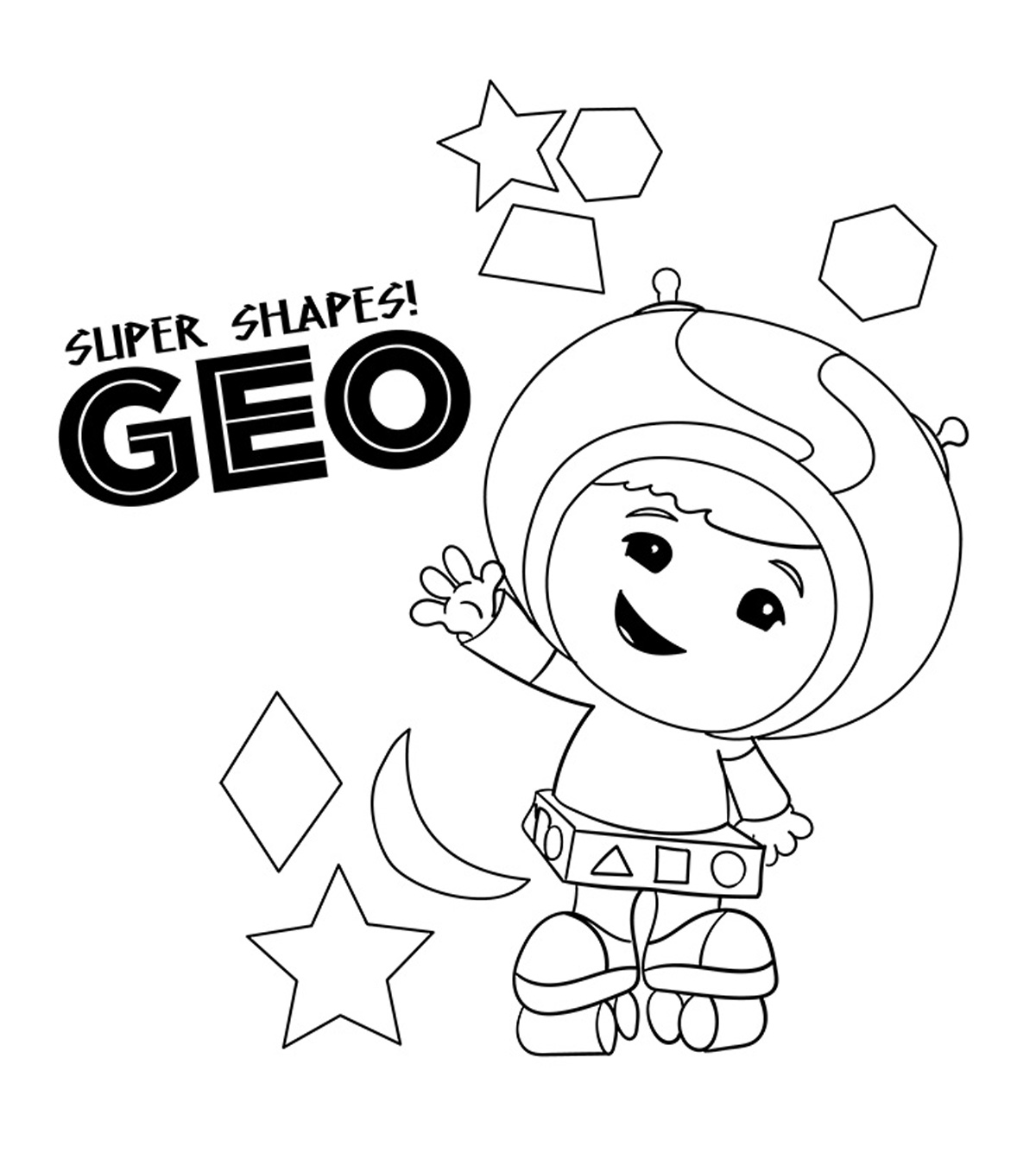 10 Best Team Umizoomi Coloring Pages