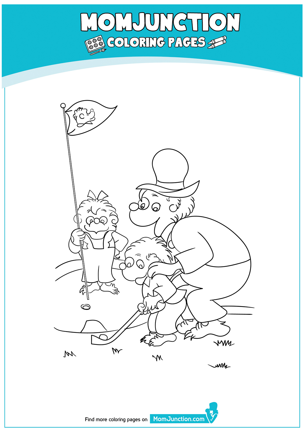 The-Berenstain-Bears-And-The-Game-of-Golf-17