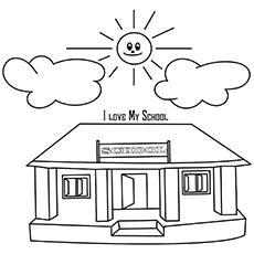 The-Happy-Sun-And-School-16 for coloring pages