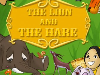 'The Lion And The Hare' Story For Your Kids