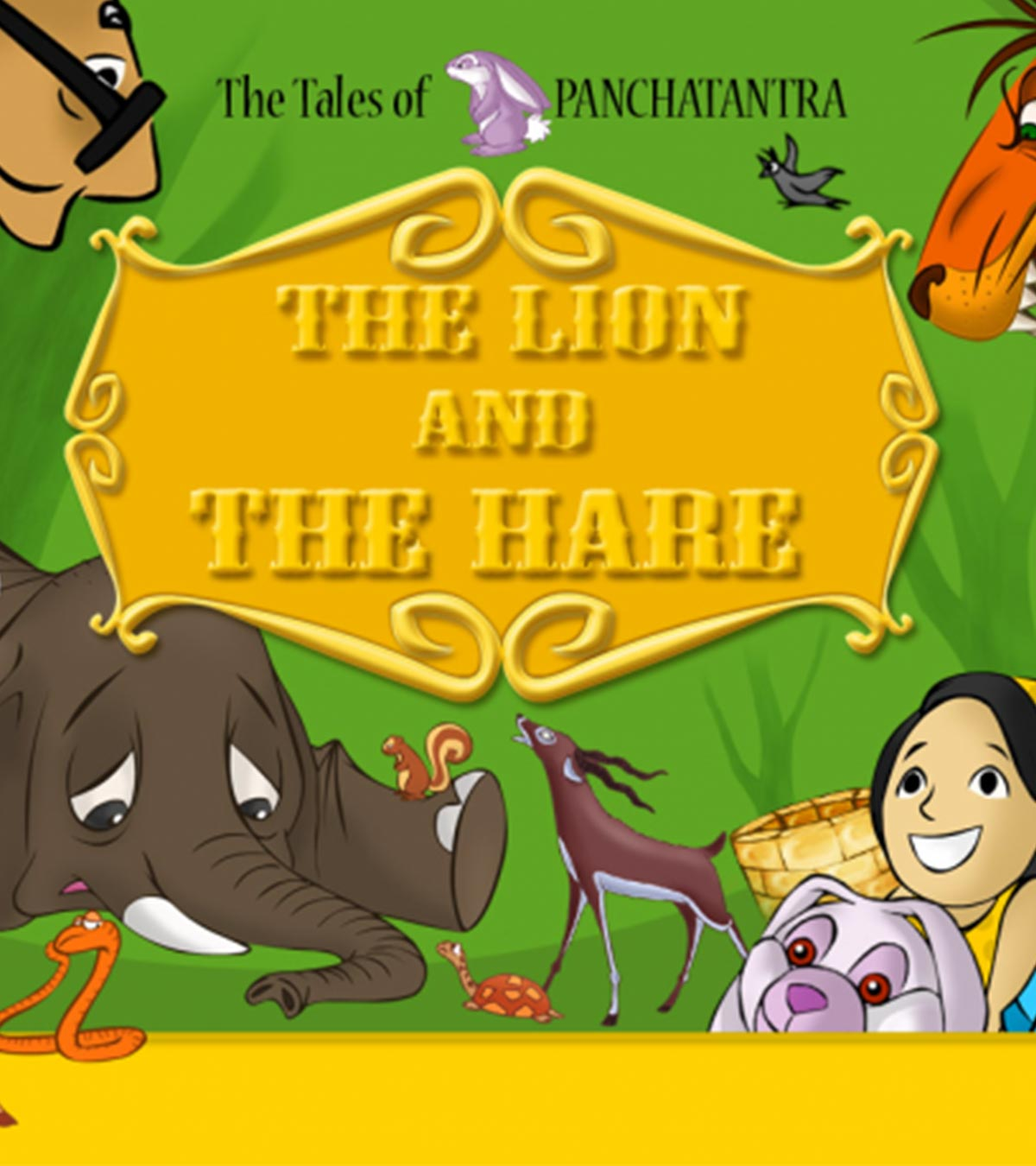 The Lion And The Hare' Story For Your Kids