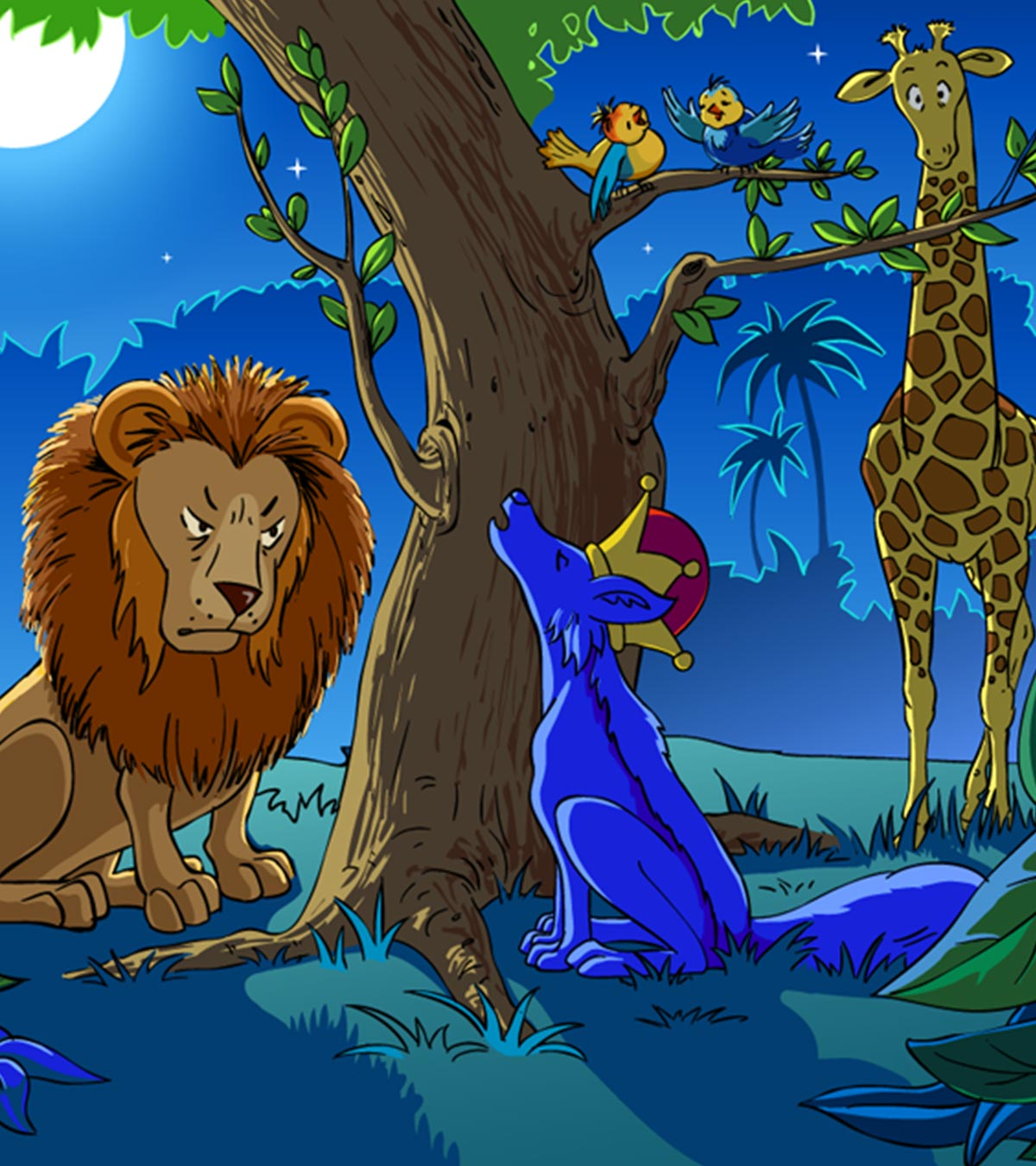 The Story Of ' The Lion And The Jackal' For Your Kids