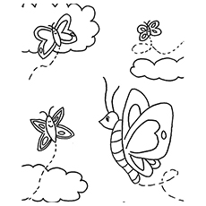 The-clouds-and-butterfly