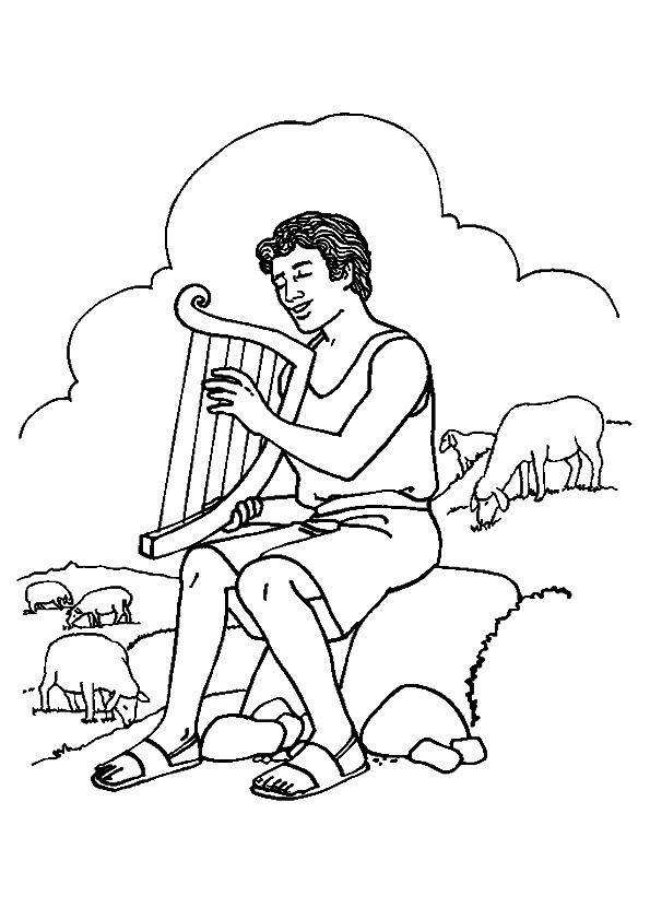 The-david-playing-the-harp