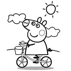 The-peppa-cycling