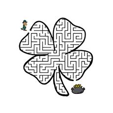 The-shamrock-maze