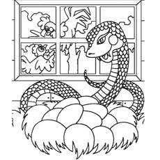 The-snake-with-eggs