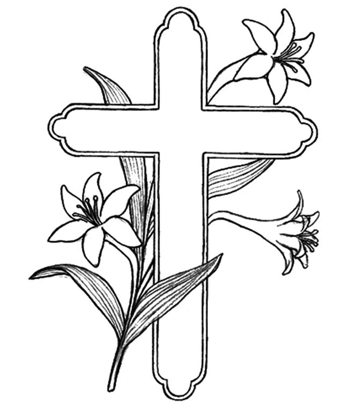 Cross-Coloring-Pages