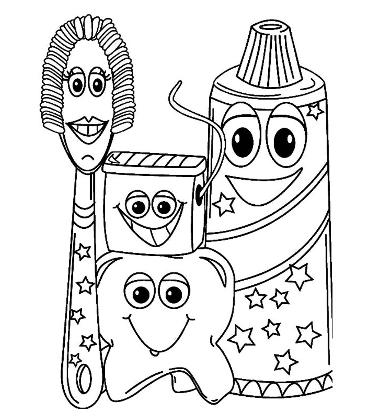 Coloring Book Pages – Every Child a Reader | 1350x1200
