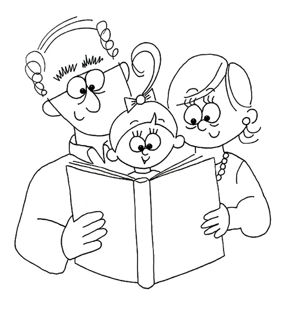 - Top 10 Grandparents Day Coloring Pages For Your Little Ones
