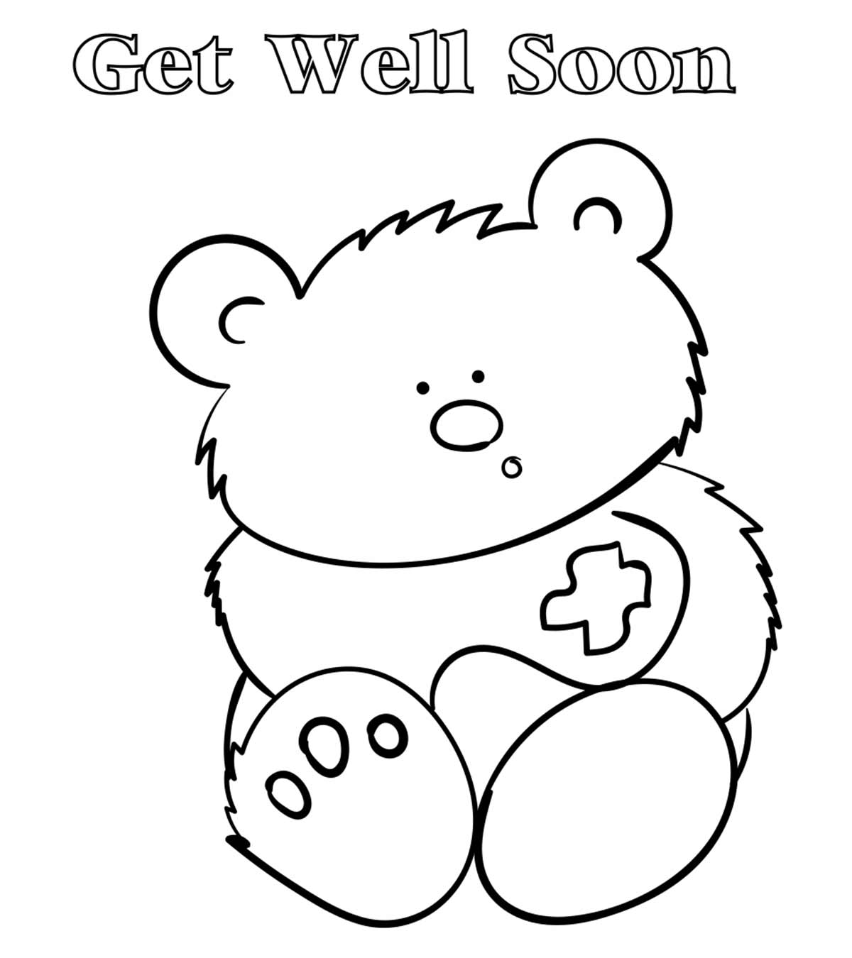 - Top 25 Free Printable Get Well Soon Coloring Pages Online