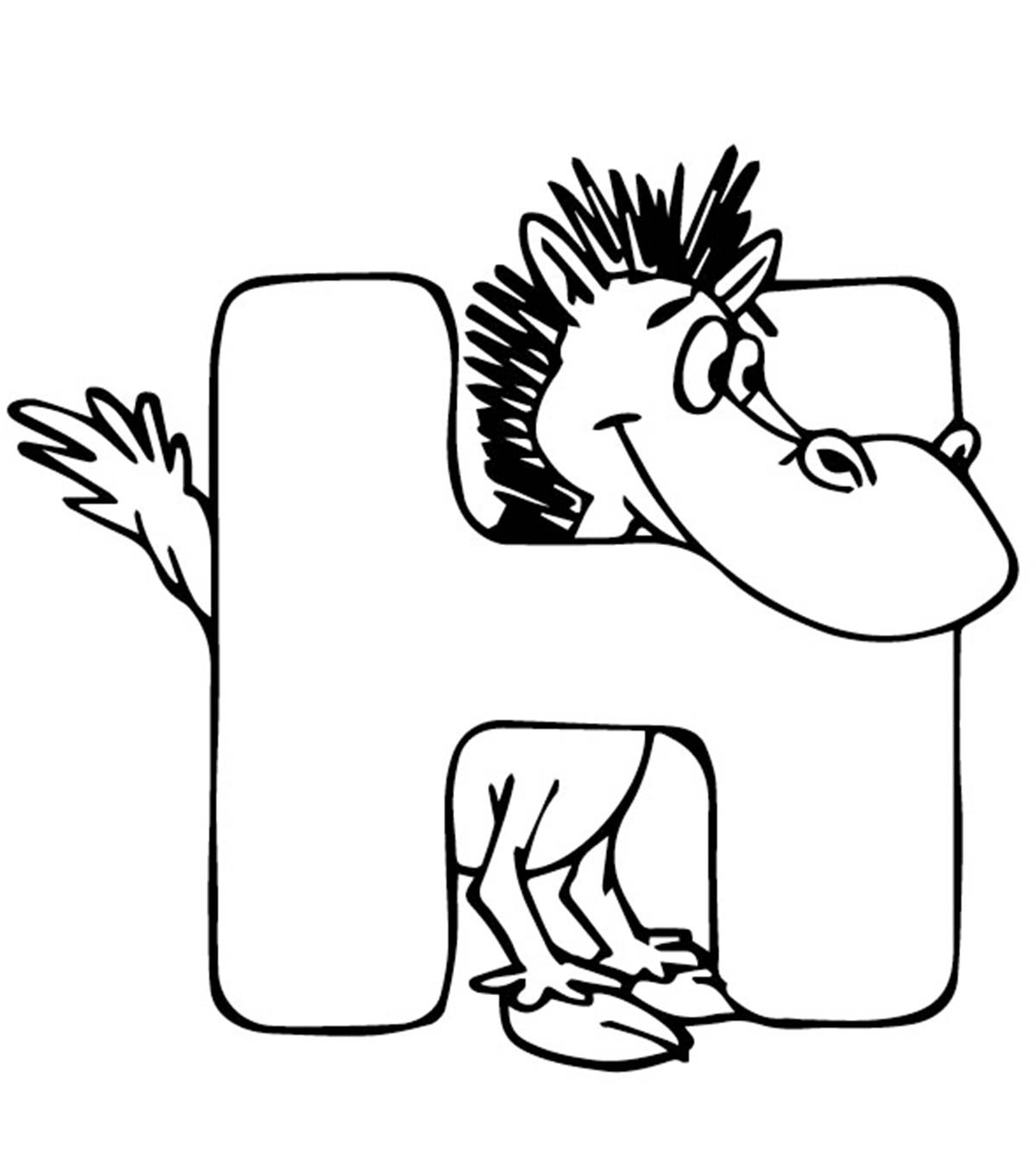 - Top 25 Free Printable Letter H Coloring Pages Online