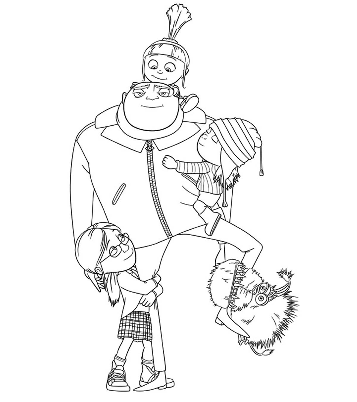 Minion Printable Coloring Pages Gallery Minion Coloring Pages Best ...   1350x1200