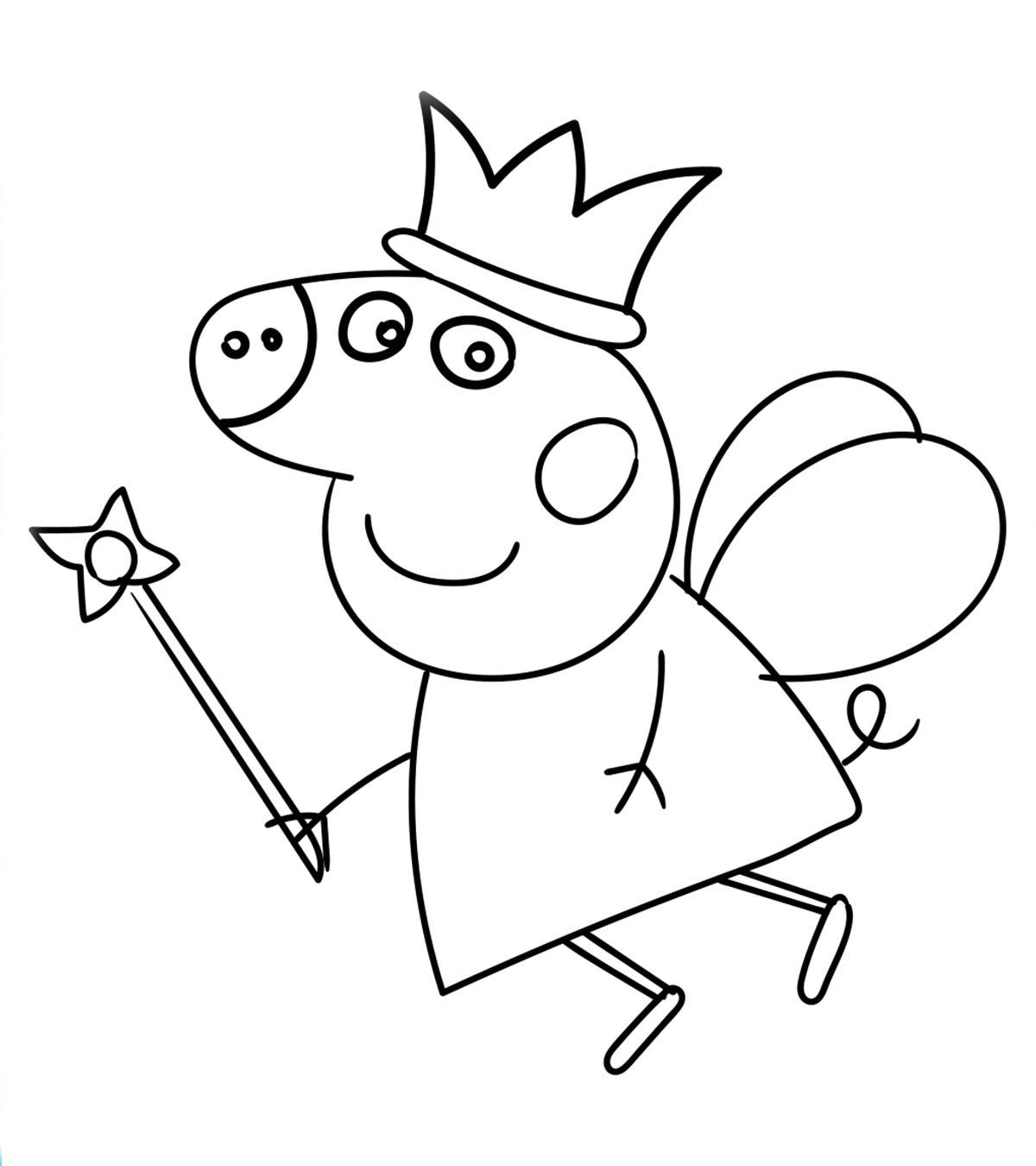 picture regarding Peppa Pig Character Free Printable Images identified as Final 35 No cost Printable Peppa Pig Coloring Webpages On-line
