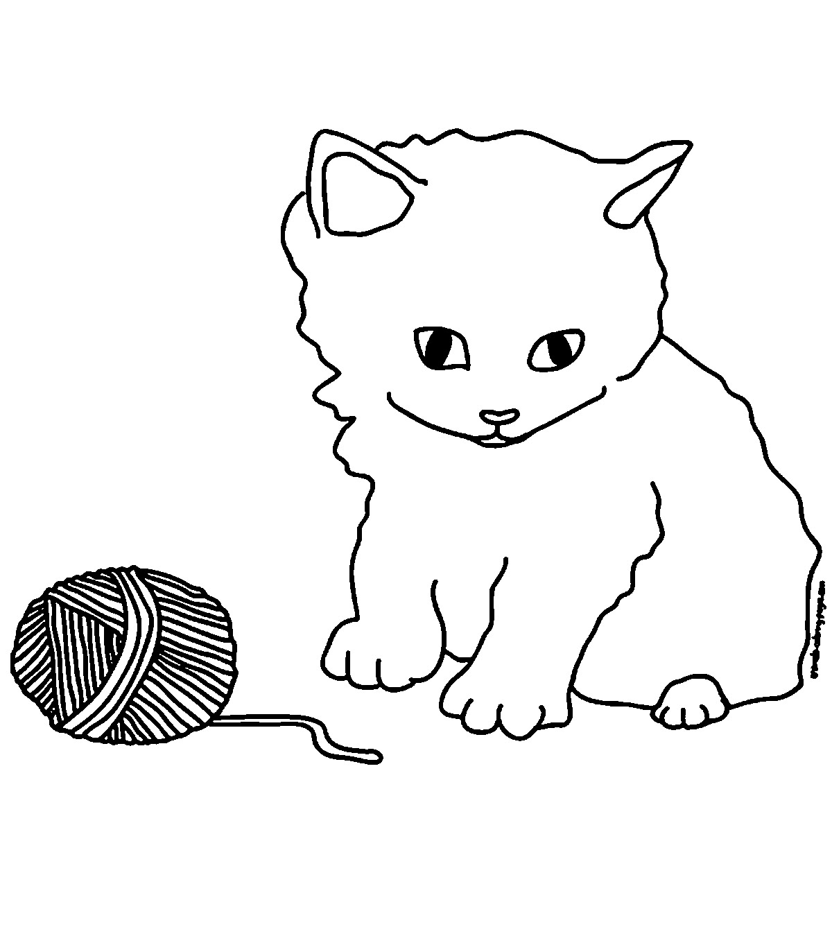 - Top 15 Free Printable Kitten Coloring Pages Online