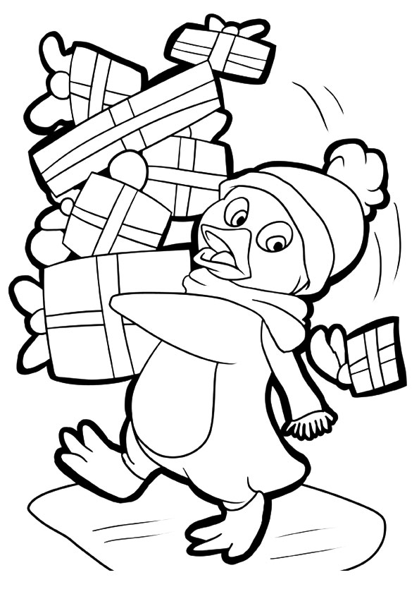 penguin-with-oodles-of-gifts