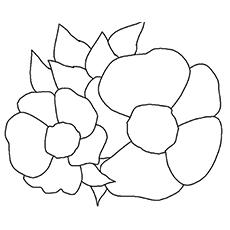 Cherokee Rose Coloring Sheet