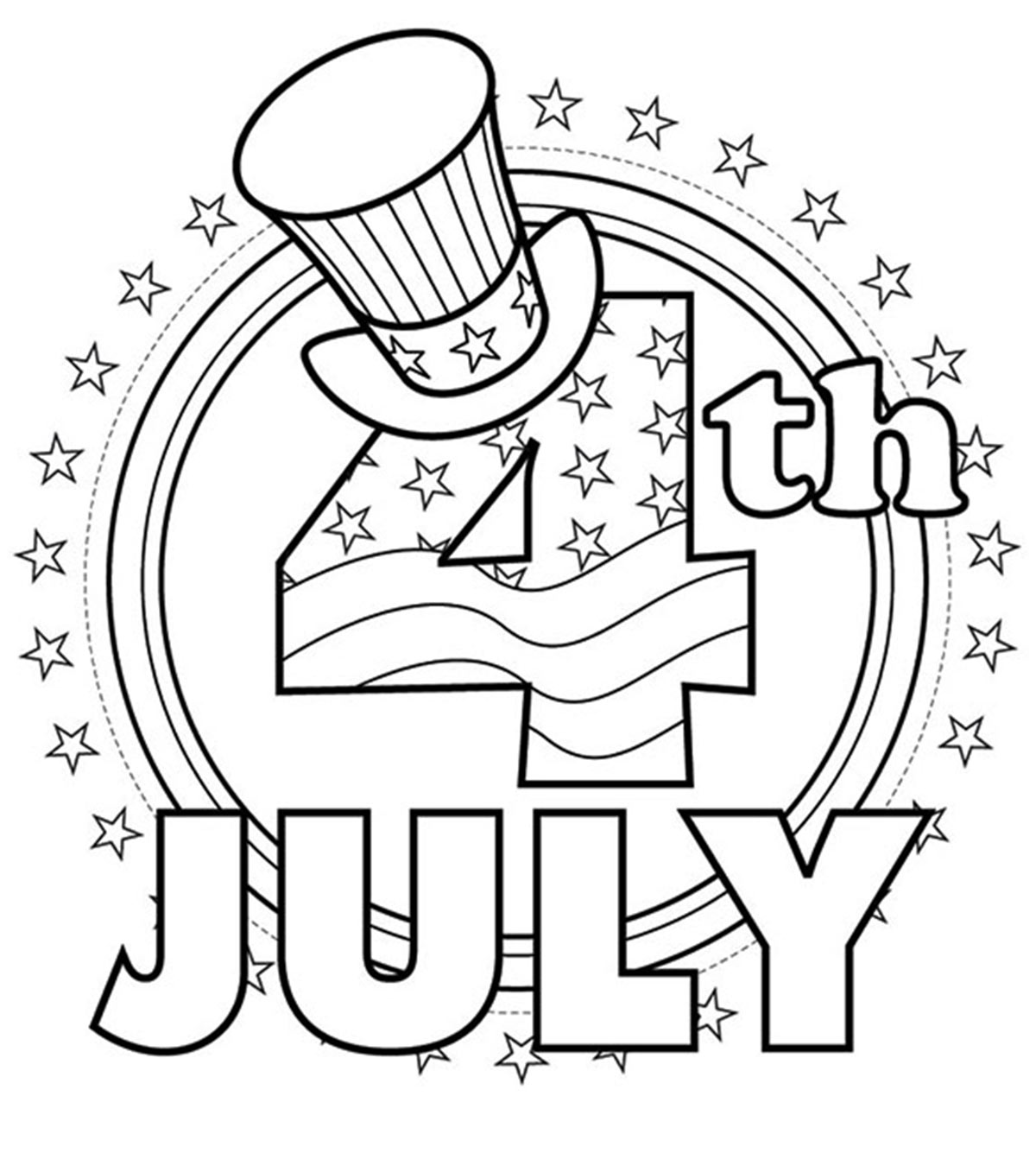 photograph regarding 4th of July Coloring Pages Printable titled Supreme 35 Absolutely free Printable 4th Of July Coloring Internet pages On the net