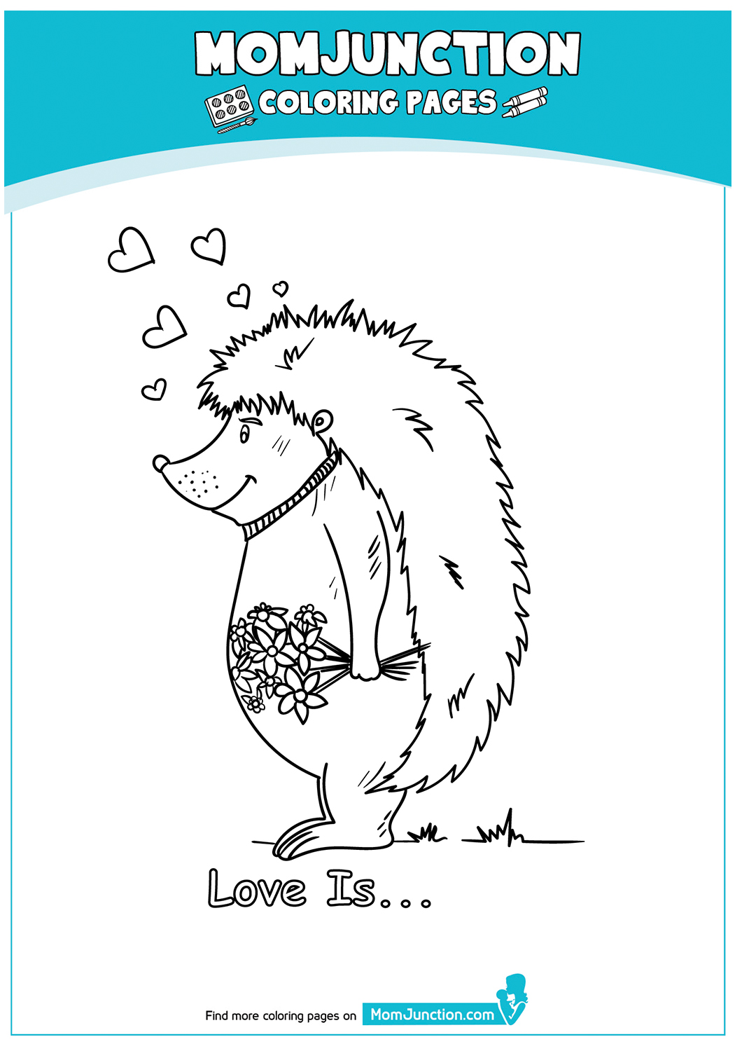 Hedgehog-With-Flowers-18