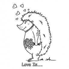 Hedgehog-With-Flowers-18