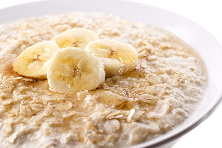 Oatmeal Banana Porridge